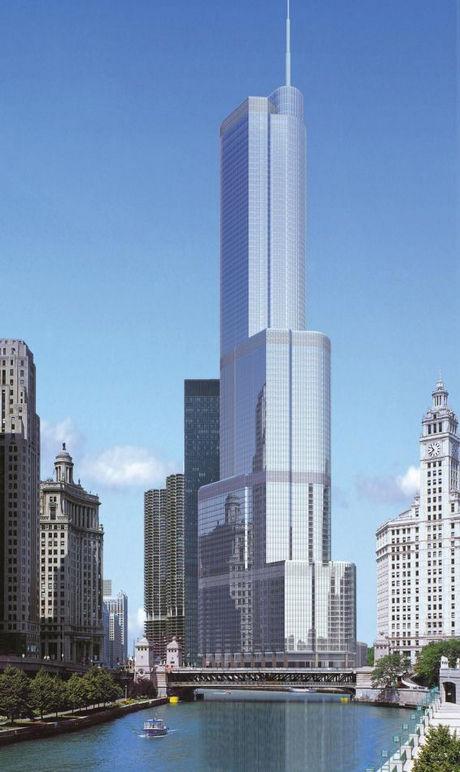 Международный отель и башня Трампа — Чикаго